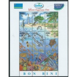 Aruba - Bl 11997r - Ryby - Ssaki morskie