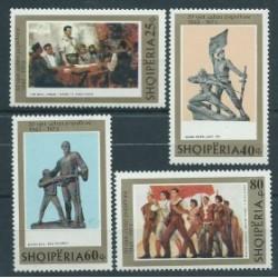 Albania - Nr 1630 - 33 1973r - Malarstwo