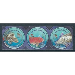 Nowa Kaledonia - Nr 1292 - 04 2003r - Ryby