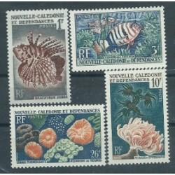 Nowa Kaledonia - Nr 364 - 67 1959r - Ryby