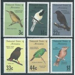 Mikronezja - Nr 077 - 82 1988r - Ptaki