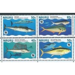 Nauru - Nr 437 - 40 Pasek 1997r - WWF - Ryby