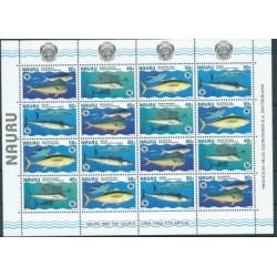 Nauru - Nr 437 - 40 Klb 1997r - WWF - Ryby