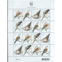 Madera - Nr 218 - 21 Klb2002r - WWF - Ptaki