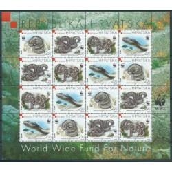 Chorwacja - Nr 500 - 03 Klb1999r - WWF - Gady