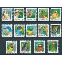 Uganda - Nr 1141 - 54 1992r - Ptaki