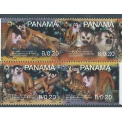 Panama - Nr 1921 - 24 Pasek 2007r - WWF - Ssaki