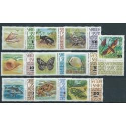 Samoa - Nr 262 - 71 1972r - Muszle - Motyle - Ryby