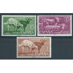 Sahara Hiszp. - Nr 243 - 45 1962r - Ssaki