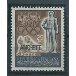 Triest  A - Nr 175 1952r - Sport