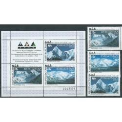 Kirgizja - Nr 219 - 21 Bl 23 2000r - Krajobrazy