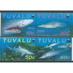 Tuvalu - Nr 862 - 65 Pasek 2000r - WWF - Ryby