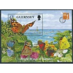 Guernsey - Bl 18 1997r - Motyle