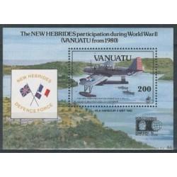 Vanuatu - Bl 18 1992r - Marynistyka - Militaria