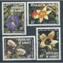 Djibouti - Nr 321 - 24 1981r - Kwiaty
