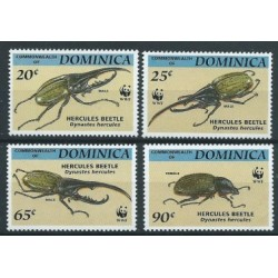 Dominika - Nr 1804 -07 1994r - WWF -  Insekty