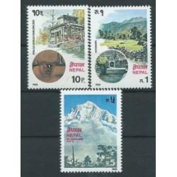 Nepal - Nr 401 - 03 1980r - Krajobrazy