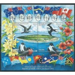 Nauru - Bl 30 2001r - Ptaki