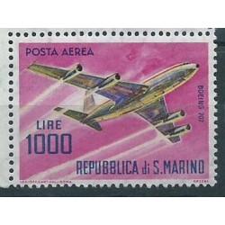 San Marino - Nr 801 1964r - Samolot