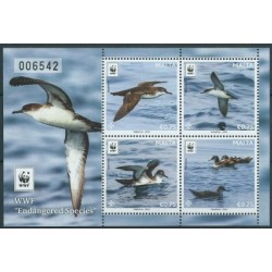 Malta - Bl 68 2016r - WWF - Ptaki