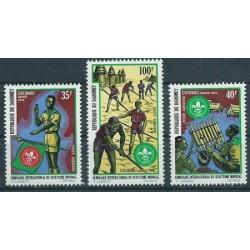 Dahomej - Nr 475 - 77 1972r - Scauting