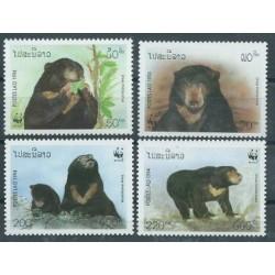 Laos - Nr 1410 - 13 1994r - WWF - Ssaki