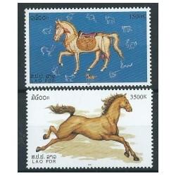 Laos - Nr 1815 - 16 2002r - Konie