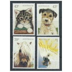 Australia - Nr 1257 - 601991r - Psy - Ptak - Koń