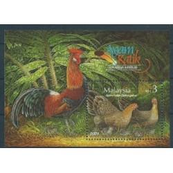 Malezja - Bl 522001r - Ptaki
