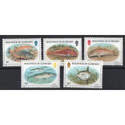 Guernsey - Nr 314 - 181985r. - Ryby
