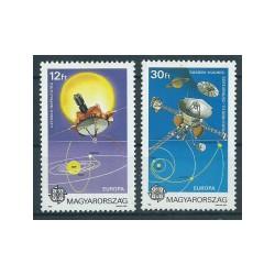 Węgry - Nr 4133 - 34 A1991r - CEPT - Kosmos
