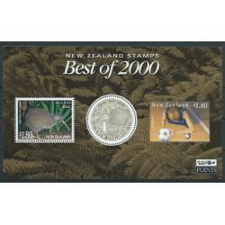 Nowa Zelandia - Bl 1222001r - Ptaki
