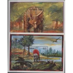 Gambia - Bl 247 - 481995r - Dinozaury