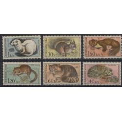 Czechosłowacja - Nr 1731 - 361967r - Ssaki