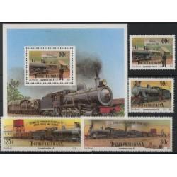 Bophuthatswana - Nr 265 - 68 Bl 61991r - Koleje
