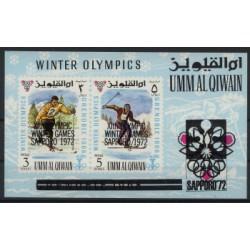 Umm al Qiwain - Bl 171969r - Sport - Olimpiada