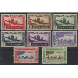 Wybrzeże Kości Słoniowej - Nr 190 - 971992r - Samoloty