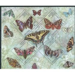 Ukraina - Bl 45 2004r - Motyle