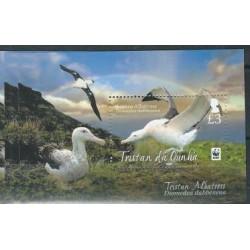 Tristan da Cunha - Bl 66 2013 r - WWF - Ptaki
