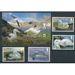 Tristan da Cunha - Nr 1129 - 32 Bl 66 - WWF - Ptaki