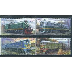 Ukraina - Nr 878 - 81 2007r - Kolejnictwo