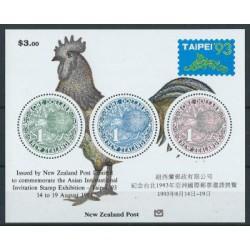 Nowa Zelandia - Bl 371993r - Ptaki