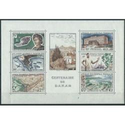 Francuska Afryka Zachodnia - Bl 1 1958r - Marynistyka