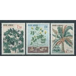 Kambodża - Nr 192 - 94 1965r - Kwiaty - Owoce