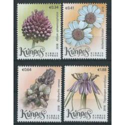 Cypr - Nr 1384 - 87 2018r - Kwiaty