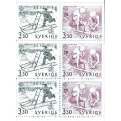 Szwecja - Nr 1550 - 51 MH 140 1989r - CEPT - Słania