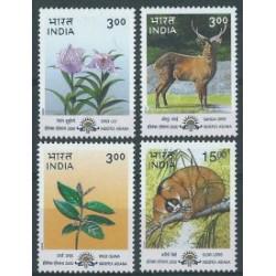 Indie - Nr 1750 - 53 2000r - Ssaki - Kwiaty
