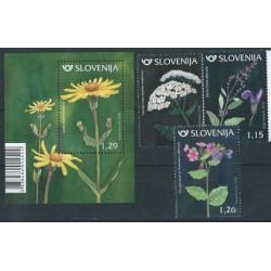 Słowenia - Nr 1298 - 00 Bl 105 2018r - Kwiaty