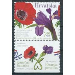 Chorwacja - Nr 1291 2017r - Kwiaty