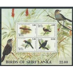 Sri - Lanka - Bl 53 1993r - Ptaki